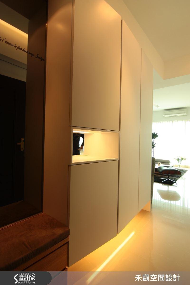 42坪新成屋(5年以下)_北歐風玄關案例圖片_禾觀空間設計_禾觀_05之1