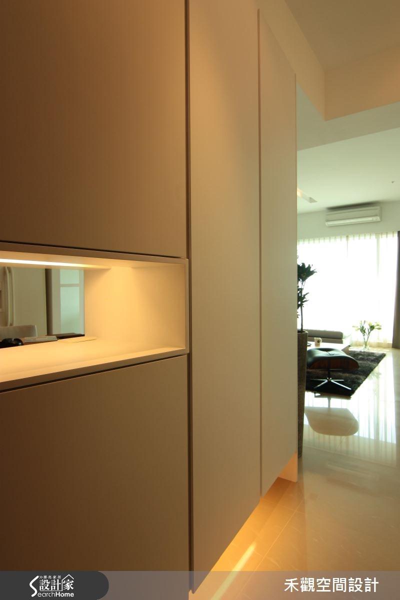 42坪新成屋(5年以下)_北歐風玄關案例圖片_禾觀空間設計_禾觀_05之2