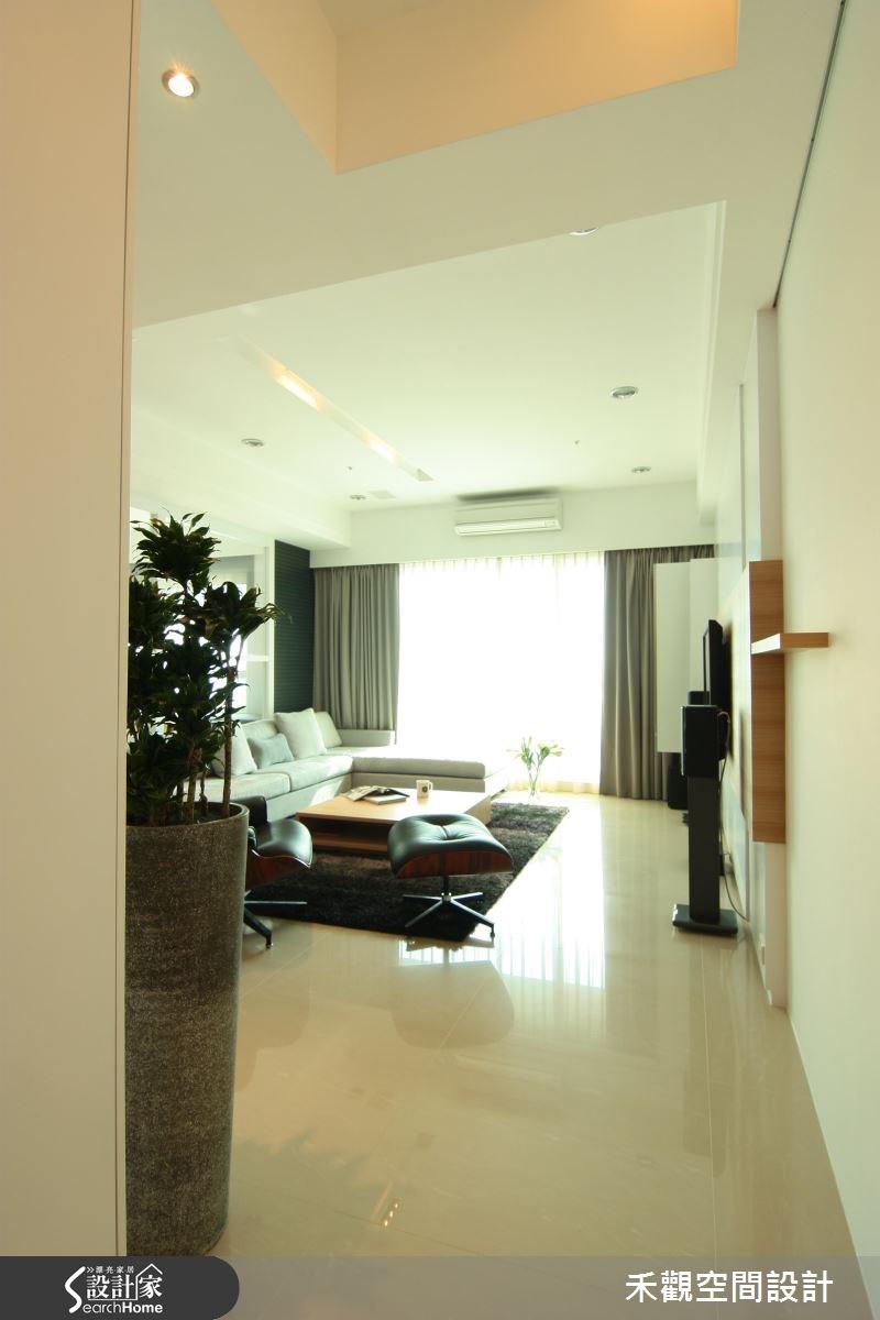 42坪新成屋(5年以下)_北歐風客廳走廊案例圖片_禾觀空間設計_禾觀_05之3
