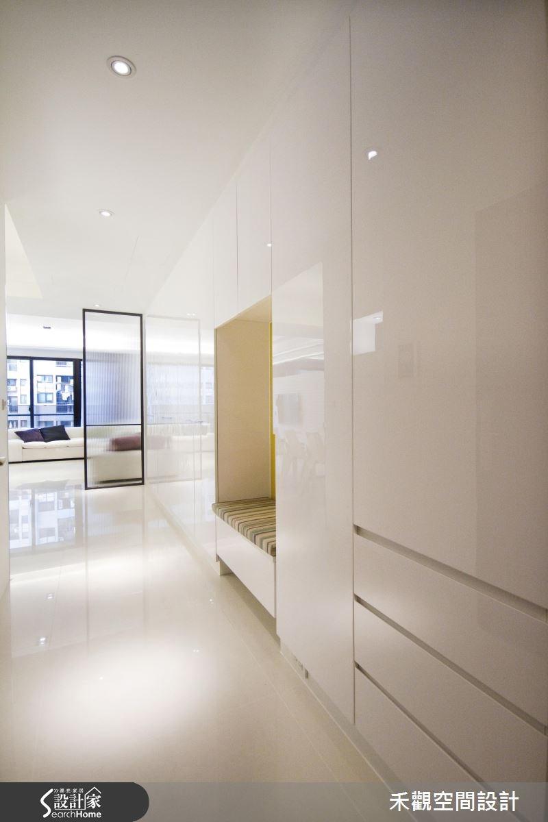 42坪新成屋(5年以下)_現代風走廊案例圖片_禾觀空間設計_禾觀_08之1