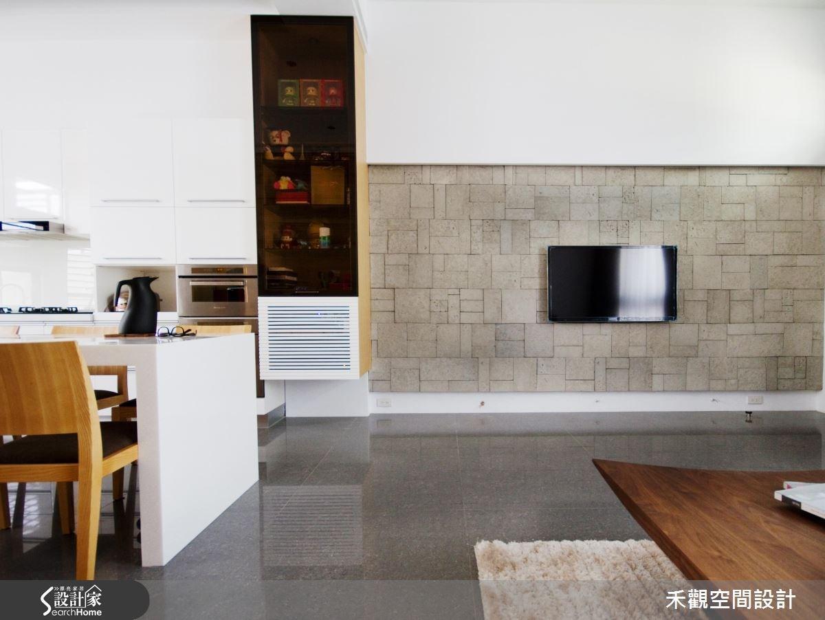 85坪新成屋(5年以下)_休閒風客廳餐廳案例圖片_禾觀空間設計_禾觀_02之5