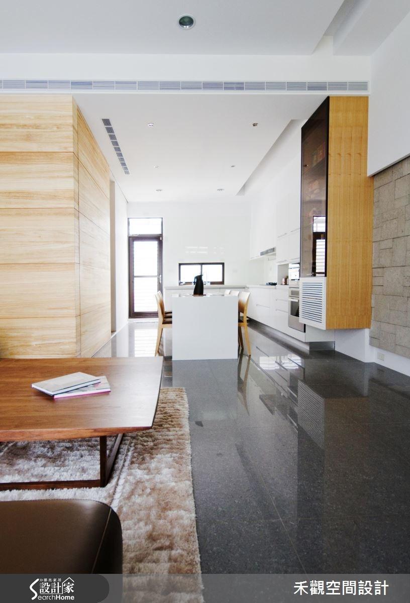 85坪新成屋(5年以下)_休閒風餐廳廚房案例圖片_禾觀空間設計_禾觀_02之8