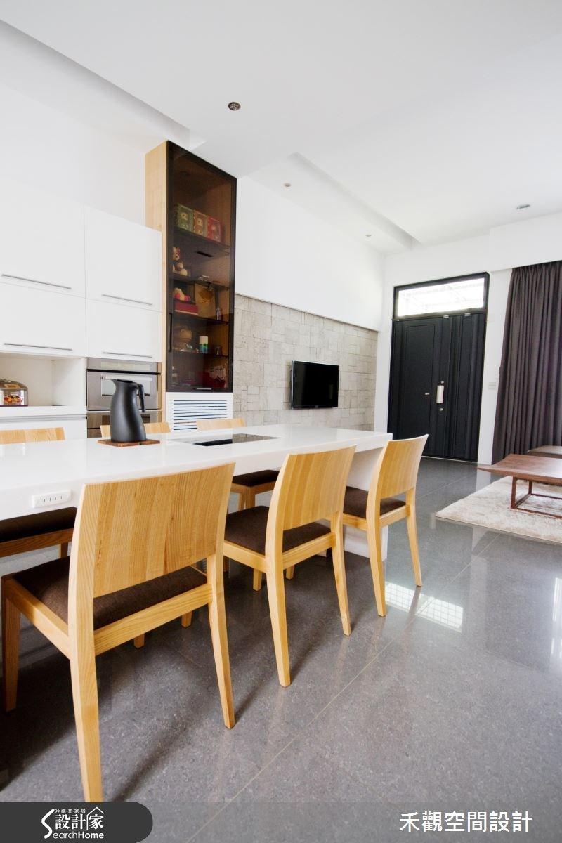 85坪新成屋(5年以下)_休閒風玄關餐廳案例圖片_禾觀空間設計_禾觀_02之10