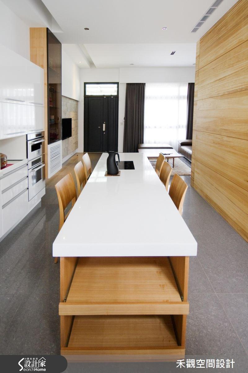 85坪新成屋(5年以下)_休閒風餐廳案例圖片_禾觀空間設計_禾觀_02之11