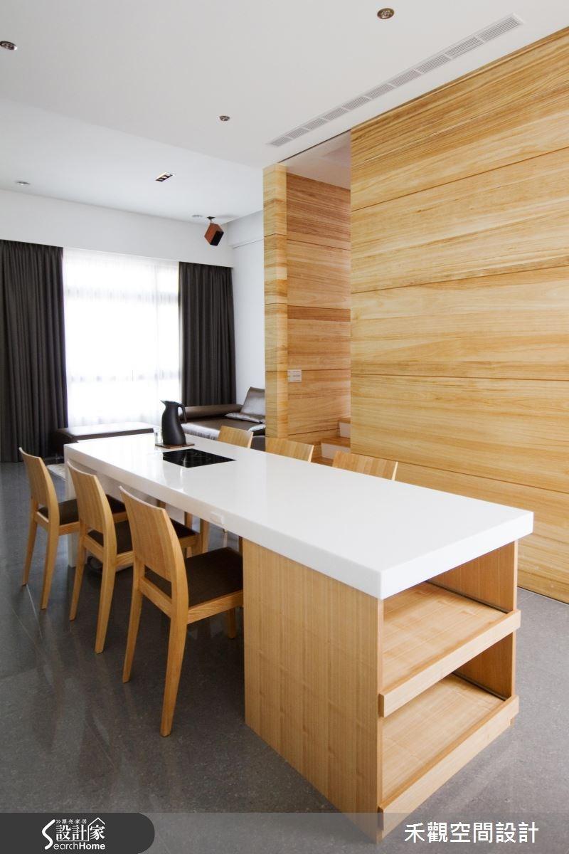 85坪新成屋(5年以下)_休閒風餐廳案例圖片_禾觀空間設計_禾觀_02之12