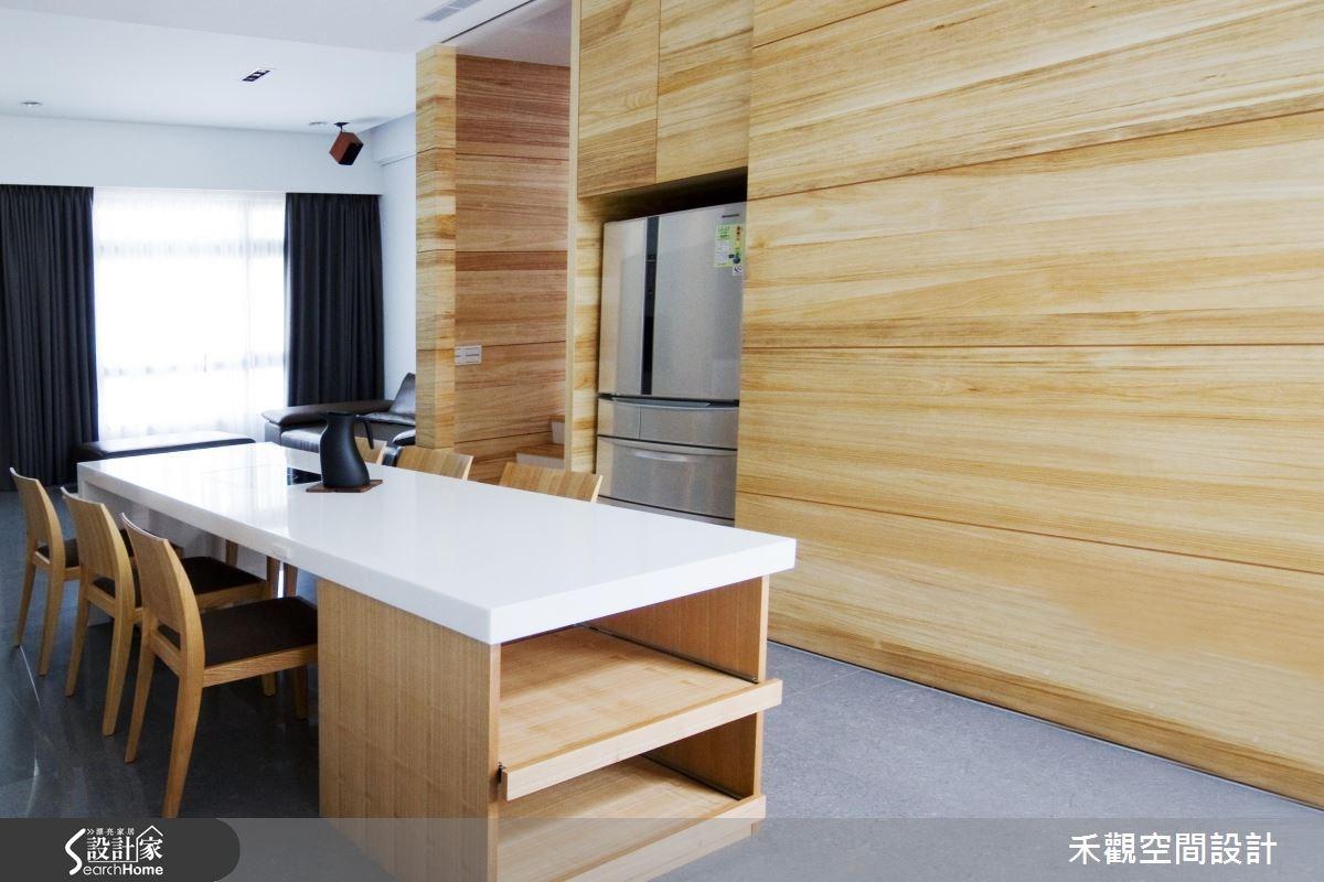 85坪新成屋(5年以下)_休閒風餐廳案例圖片_禾觀空間設計_禾觀_02之13
