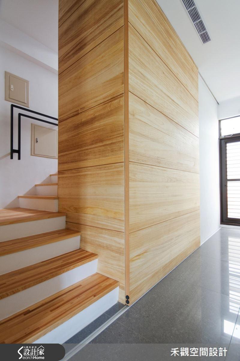 85坪新成屋(5年以下)_休閒風樓梯案例圖片_禾觀空間設計_禾觀_02之18
