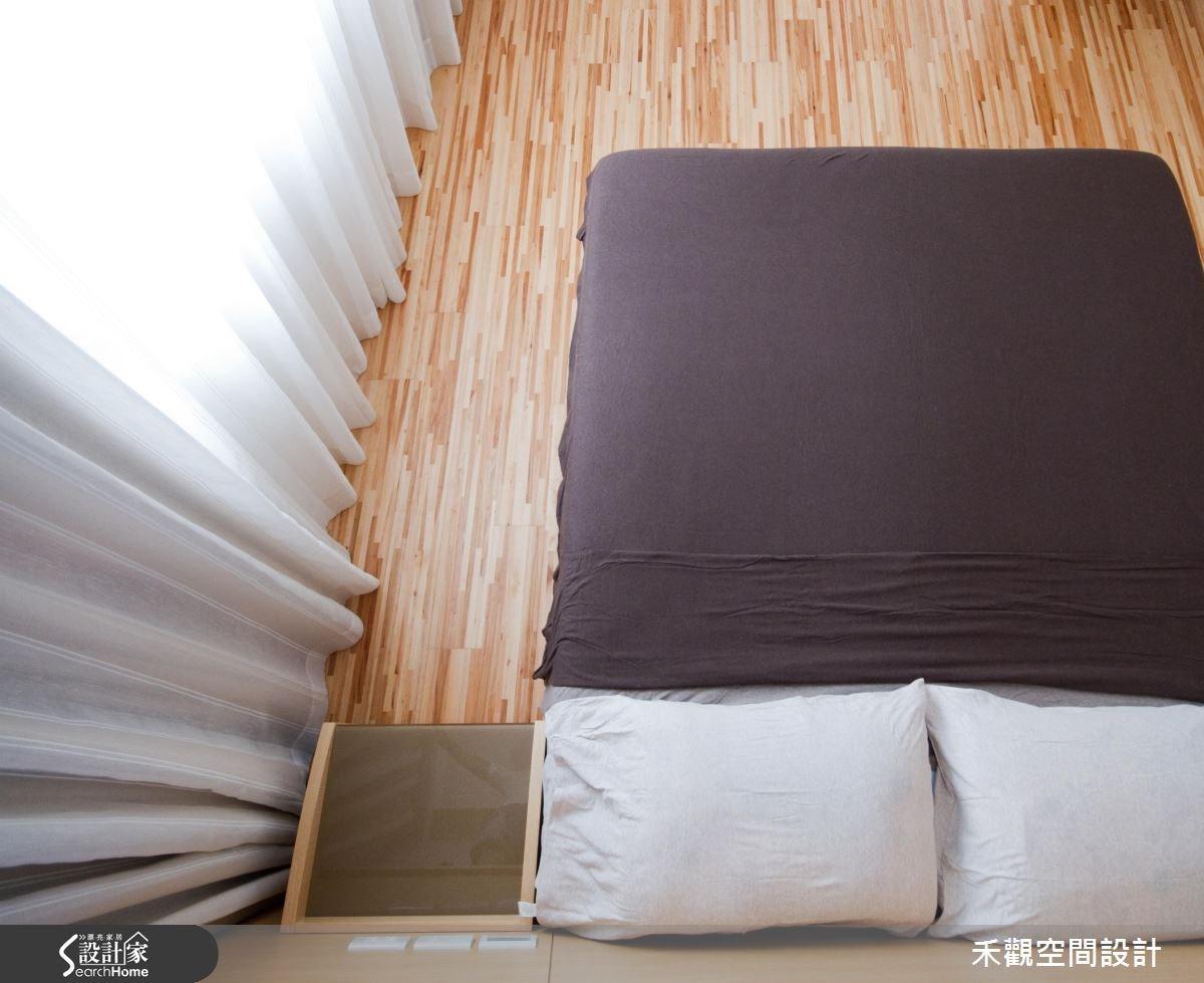 85坪新成屋(5年以下)_休閒風臥室案例圖片_禾觀空間設計_禾觀_02之19