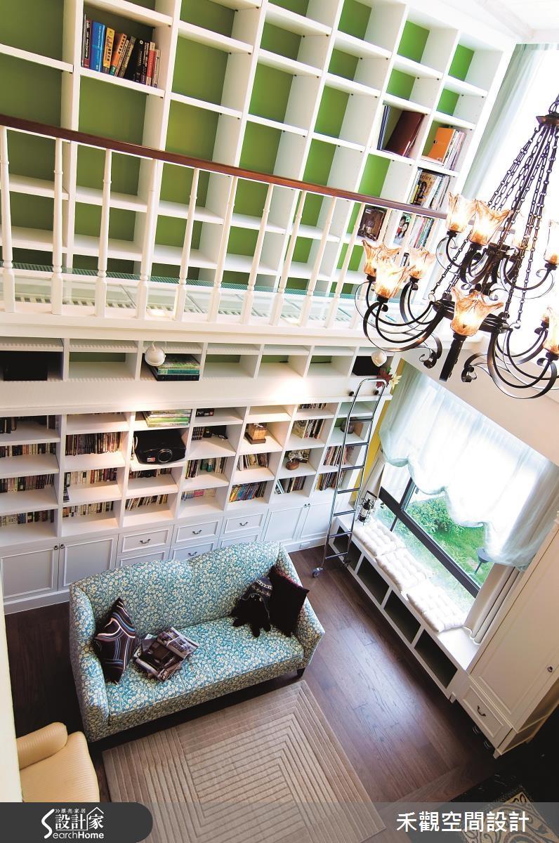 90坪新成屋(5年以下)_美式風客廳案例圖片_禾觀空間設計_禾觀_06之2