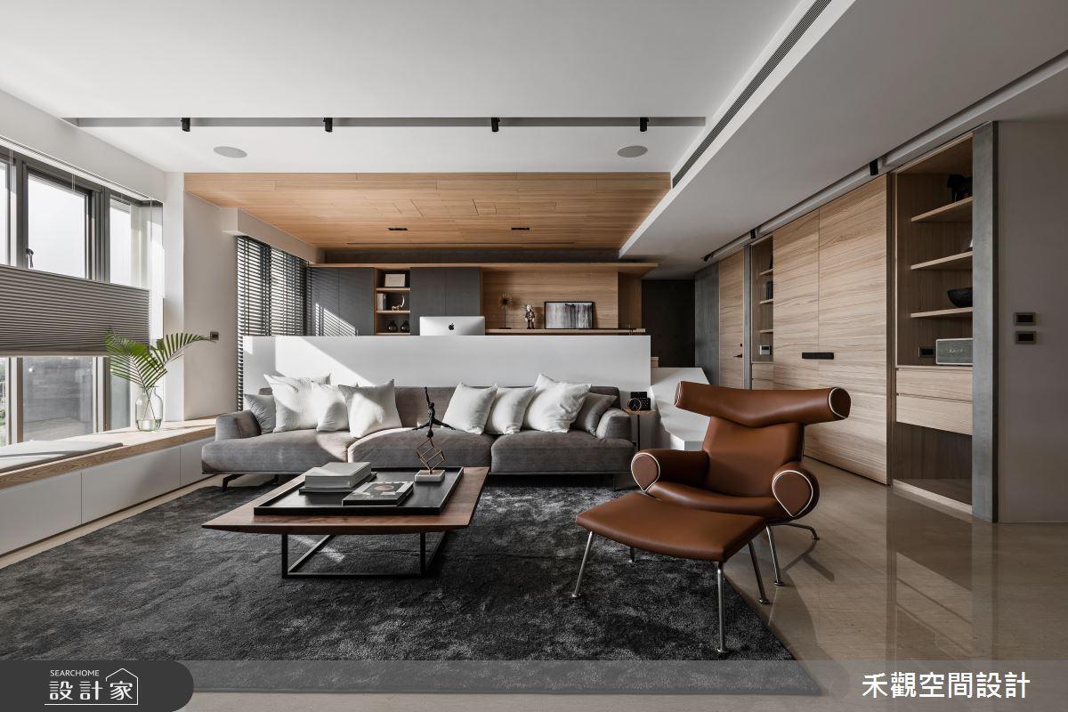 居家影院 x 中島廚房,待客如親的混搭風好設計