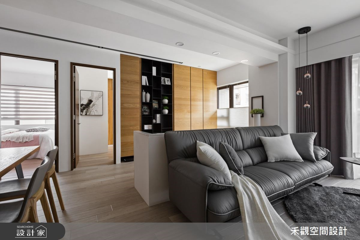 38坪新成屋(5年以下)_休閒風案例圖片_禾觀空間設計_禾觀_17之4