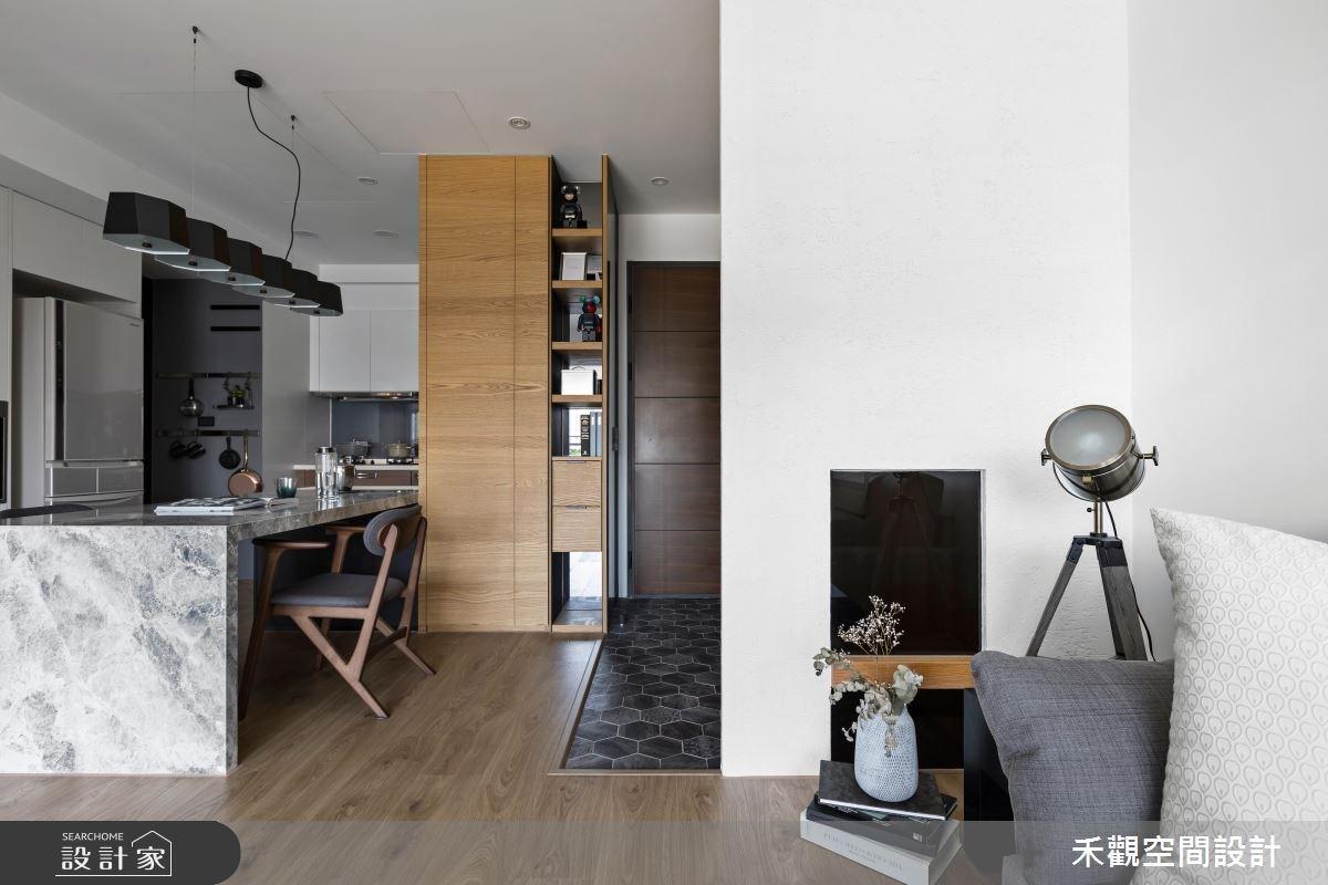 30坪新成屋(5年以下)_現代風案例圖片_禾觀空間設計_禾觀_20之4