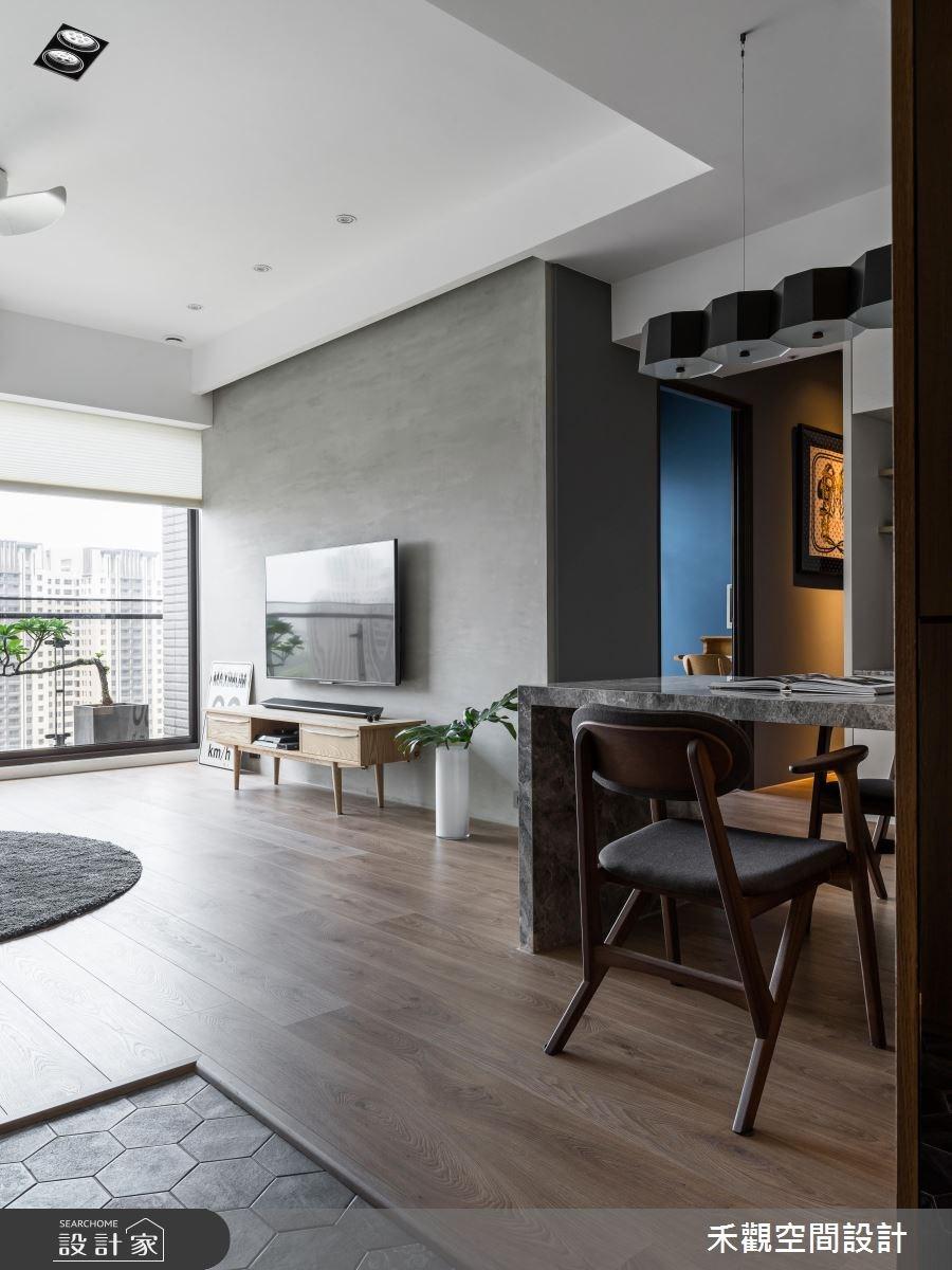 30坪新成屋(5年以下)_現代風案例圖片_禾觀空間設計_禾觀_20之5