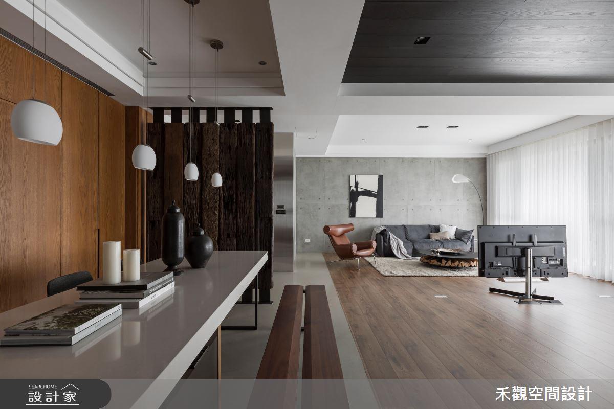 沒有拘束感的簡約生活!打造 47 坪現代風開放式居家