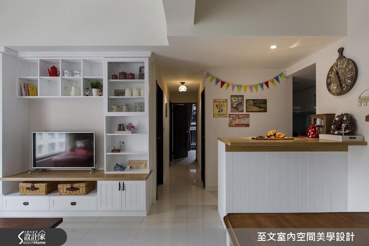 25坪新成屋(5年以下)_鄉村風案例圖片_至文室內裝修有限公司_至文_12之4