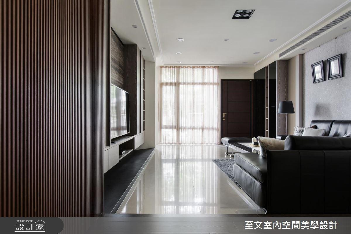 70坪中古屋(5~15年)_現代風客廳案例圖片_至文室內裝修有限公司_至文_寫意。隨心之1