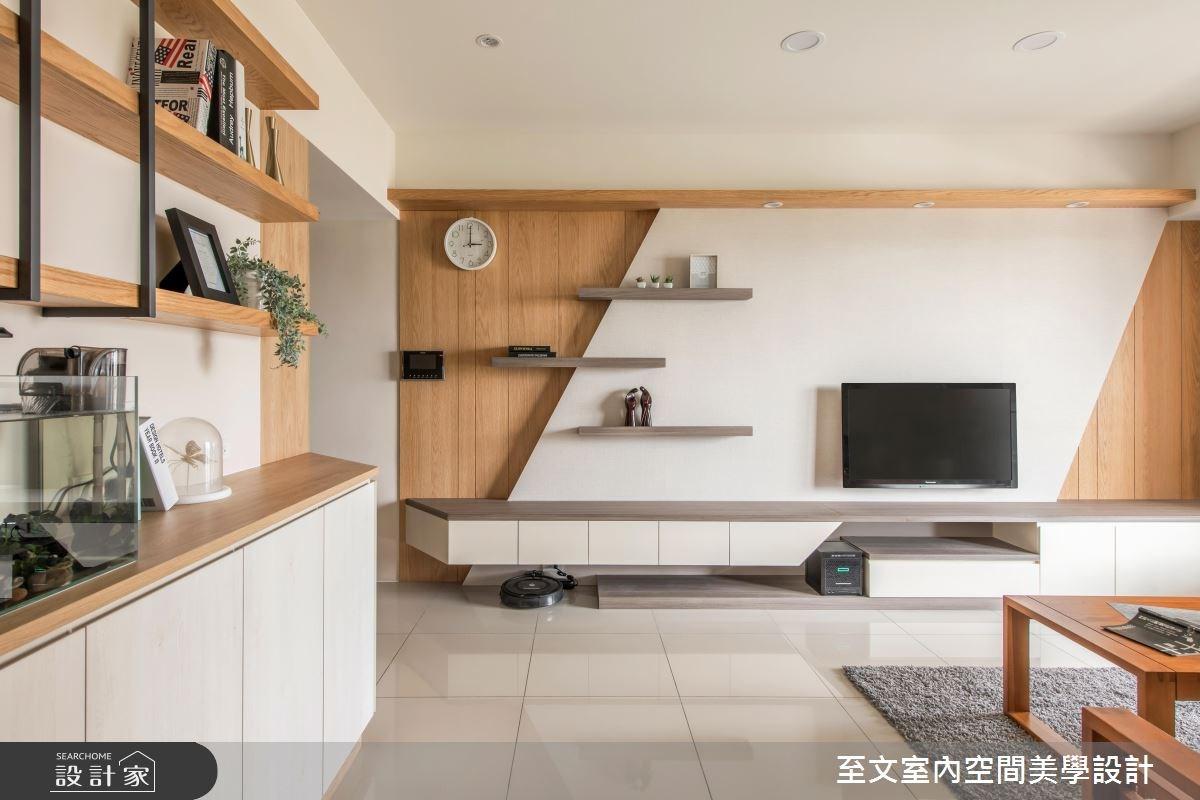 23坪新成屋(5年以下)_北歐風客廳案例圖片_至文室內裝修有限公司_至文_森。日和之3