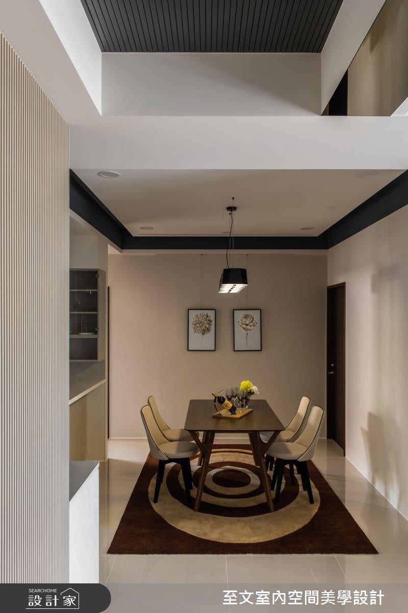 32坪新成屋(5年以下)_簡約風餐廳案例圖片_至文室內裝修有限公司_至文_原璞質美之6