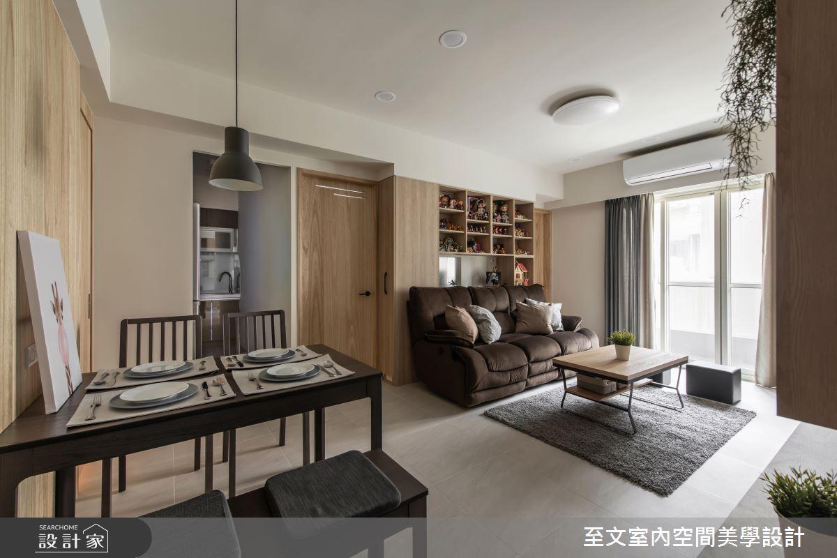 交給完美設計!打造 19 坪、3 房 2 廳、三代同堂