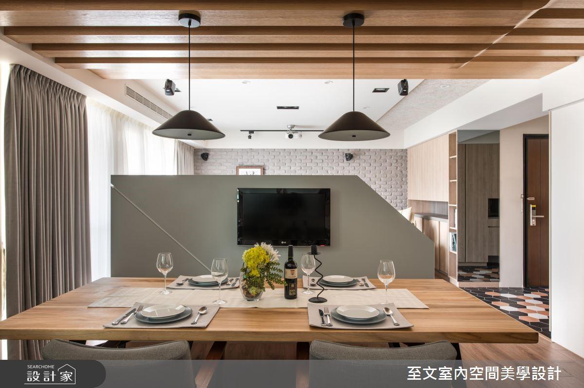 31坪新成屋(5年以下)_混搭風餐廳案例圖片_至文室內裝修有限公司_至文_41之11
