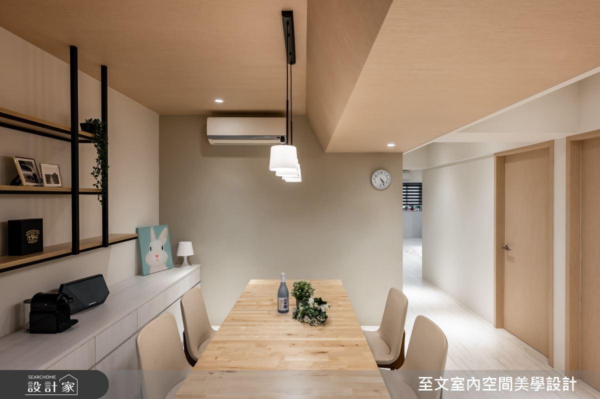 53坪老屋(16~30年)_北歐風餐廳案例圖片_至文室內裝修有限公司_至文_初。晴之10