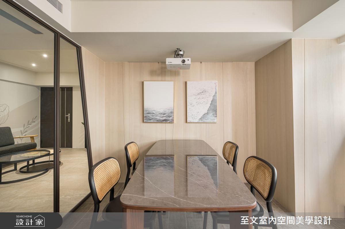 38坪老屋(16~30年)_現代風案例圖片_至文室內裝修有限公司_至文_翻轉幾何之4