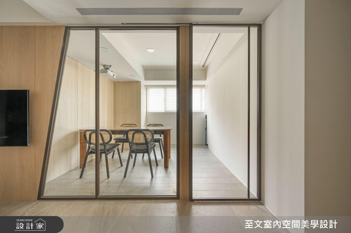 38坪老屋(16~30年)_現代風案例圖片_至文室內裝修有限公司_至文_翻轉幾何之3