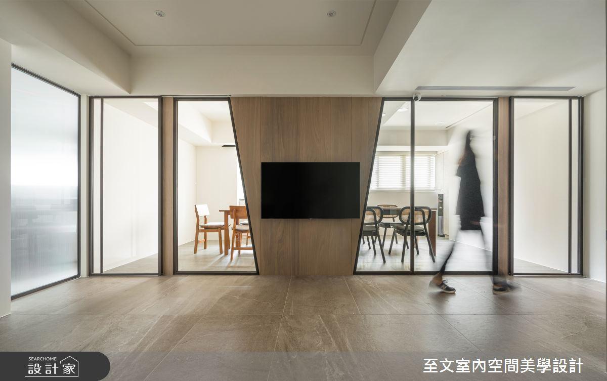 38坪老屋(16~30年)_現代風案例圖片_至文室內裝修有限公司_至文_翻轉幾何之2