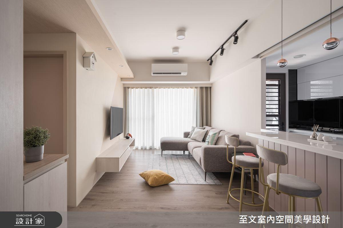 16坪新成屋(5年以下)_北歐風案例圖片_至文室內裝修有限公司_至文_景序之2