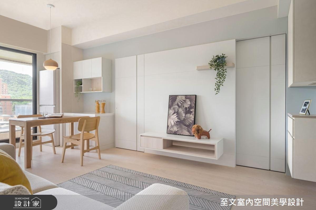 16坪新成屋(5年以下)_北歐風案例圖片_至文室內裝修有限公司_至文_57之2