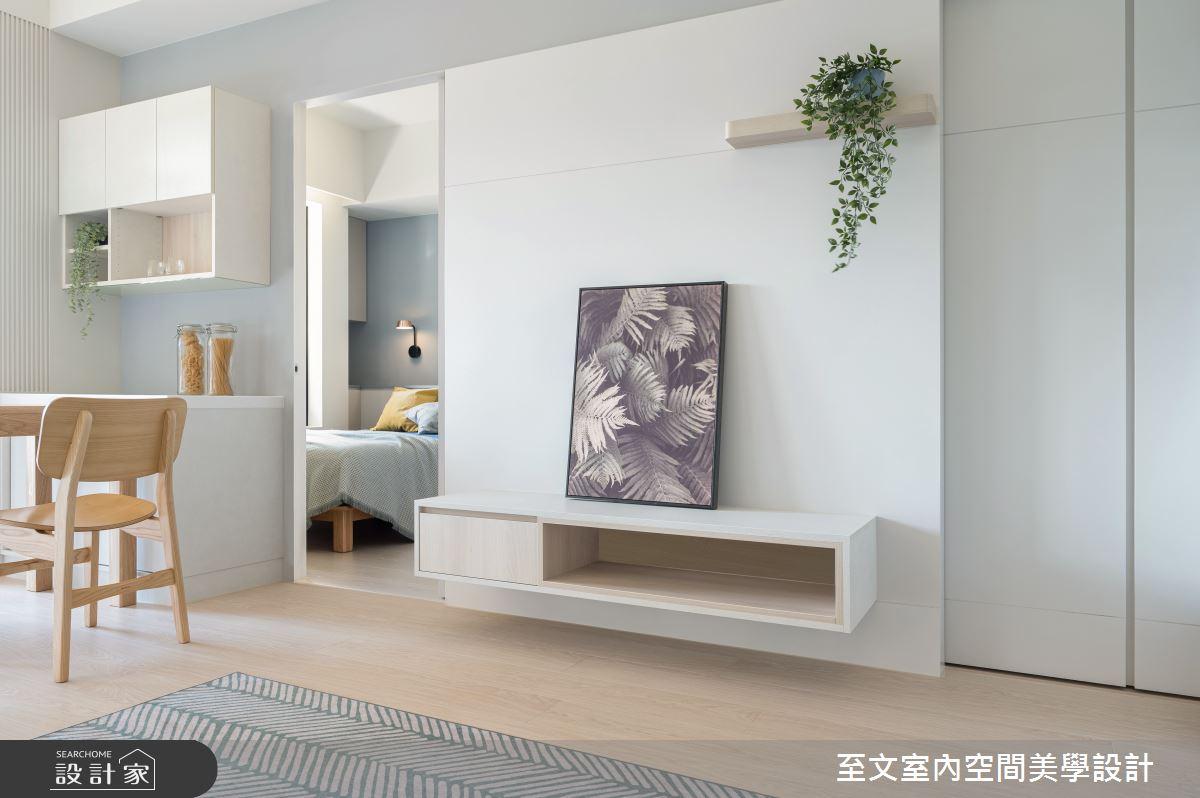 16坪新成屋(5年以下)_北歐風案例圖片_至文室內裝修有限公司_至文_57之3