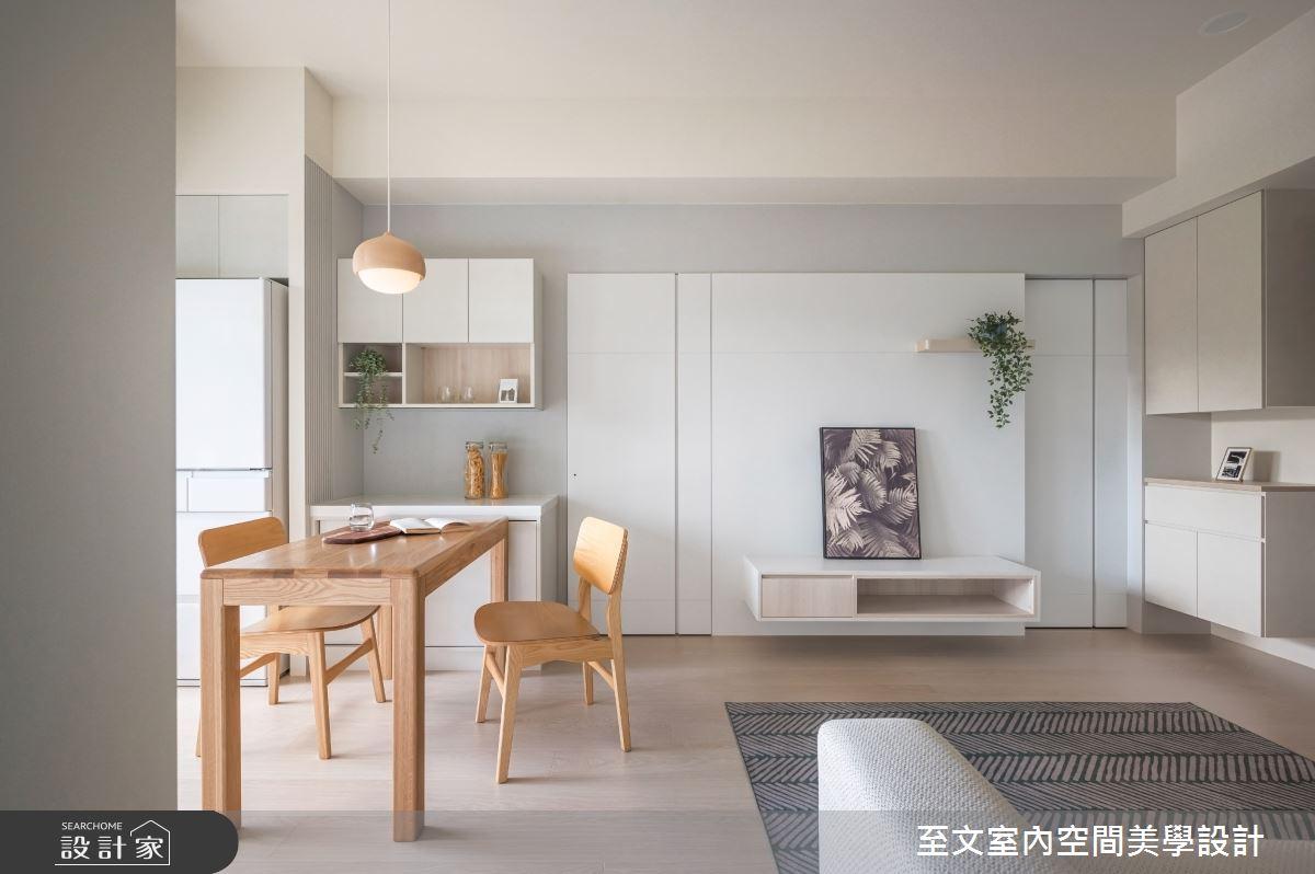 16坪新成屋(5年以下)_北歐風案例圖片_至文室內裝修有限公司_至文_57之1