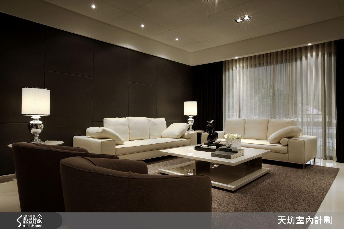65坪預售屋_現代風客廳案例圖片_天坊室內計劃有限公司_天坊_03之2