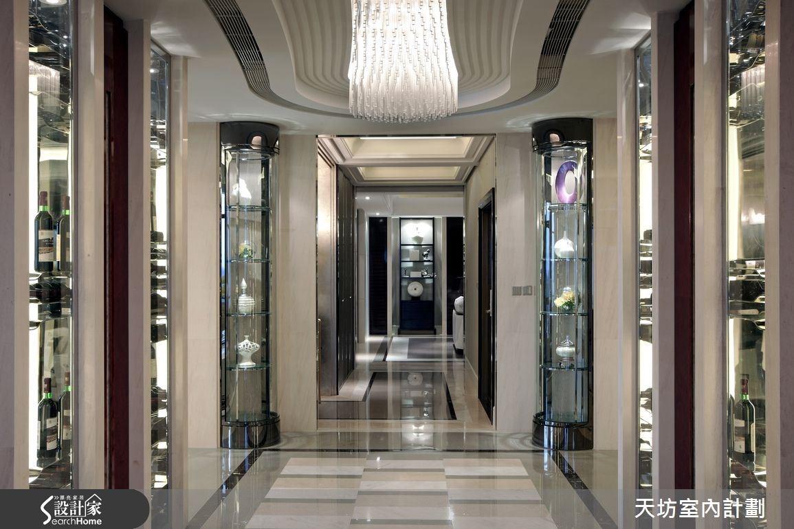 148坪新成屋(5年以下)_新中式風走廊案例圖片_天坊室內計劃有限公司_天坊_04之2