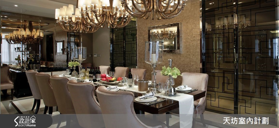 148坪新成屋(5年以下)_新中式風餐廳案例圖片_天坊室內計劃有限公司_天坊_04之4