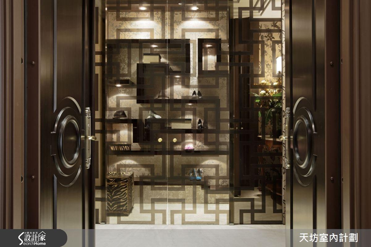 180坪預售屋_新中式風玄關案例圖片_天坊室內計劃有限公司_天坊_05之1