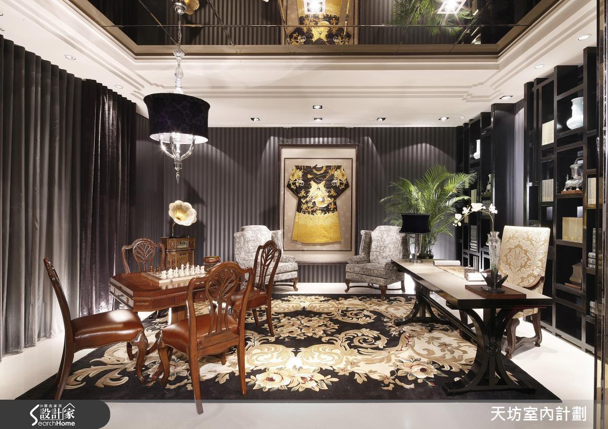 180坪預售屋_新中式風書房案例圖片_天坊室內計劃有限公司_天坊_05之5