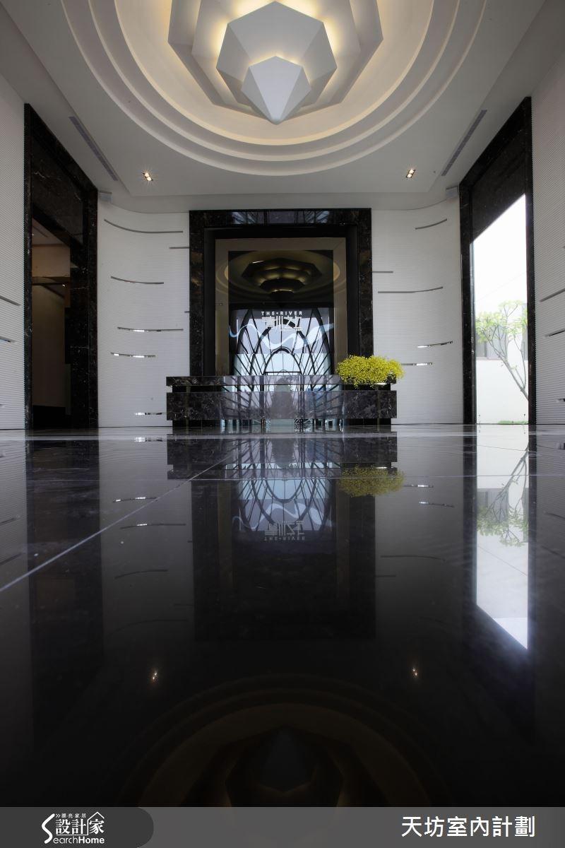 300坪_現代風走廊案例圖片_天坊室內計劃有限公司_天坊_06之4