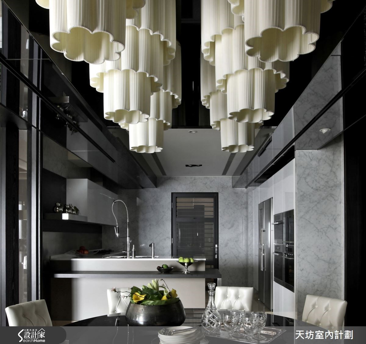 93坪新成屋(5年以下)_新中式風廚房案例圖片_天坊室內計劃有限公司_天坊_09之1