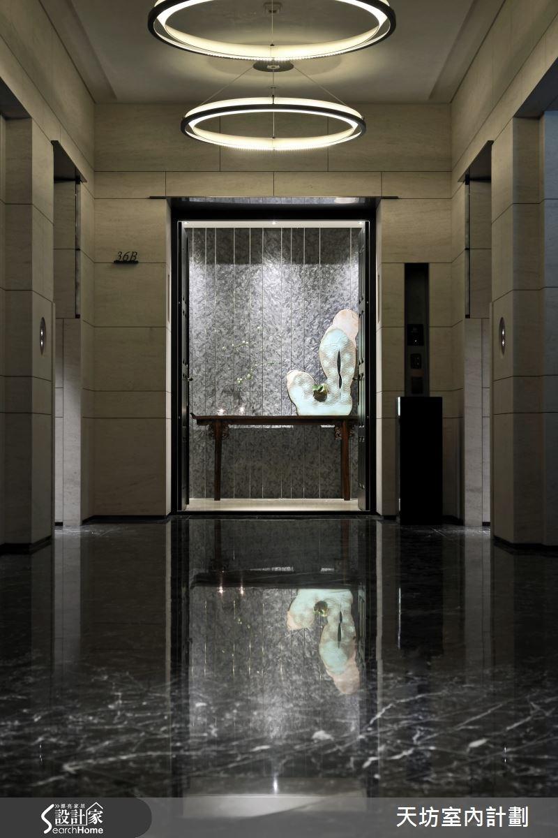 93坪新成屋(5年以下)_新中式風走廊案例圖片_天坊室內計劃有限公司_天坊_09之2
