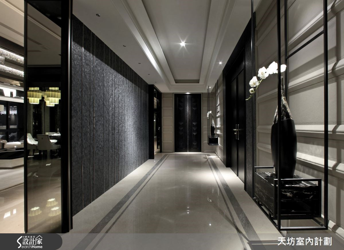 93坪新成屋(5年以下)_新中式風走廊案例圖片_天坊室內計劃有限公司_天坊_09之3