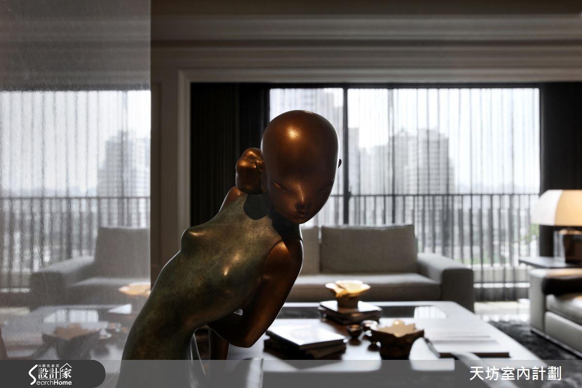 110坪預售屋_新中式風案例圖片_天坊室內計劃有限公司_天坊_10之1