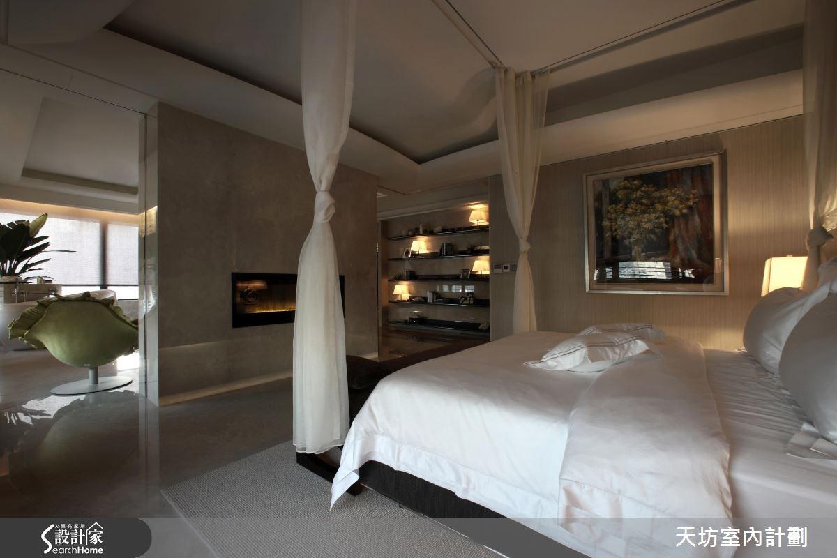 110坪預售屋_新中式風臥室案例圖片_天坊室內計劃有限公司_天坊_10之13