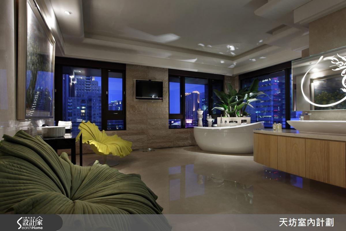 110坪預售屋_新中式風浴室案例圖片_天坊室內計劃有限公司_天坊_10之14