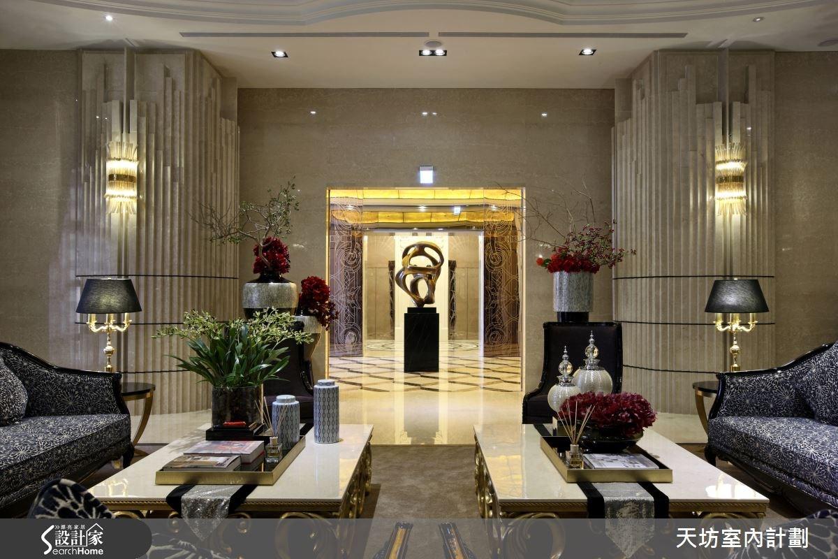 310坪預售屋_新中式風案例圖片_天坊室內計劃有限公司_天坊_14之2