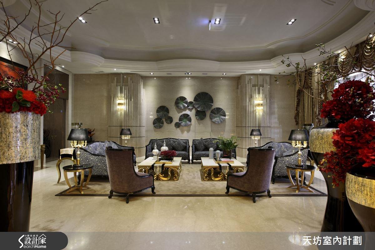 310坪預售屋_新中式風案例圖片_天坊室內計劃有限公司_天坊_14之3