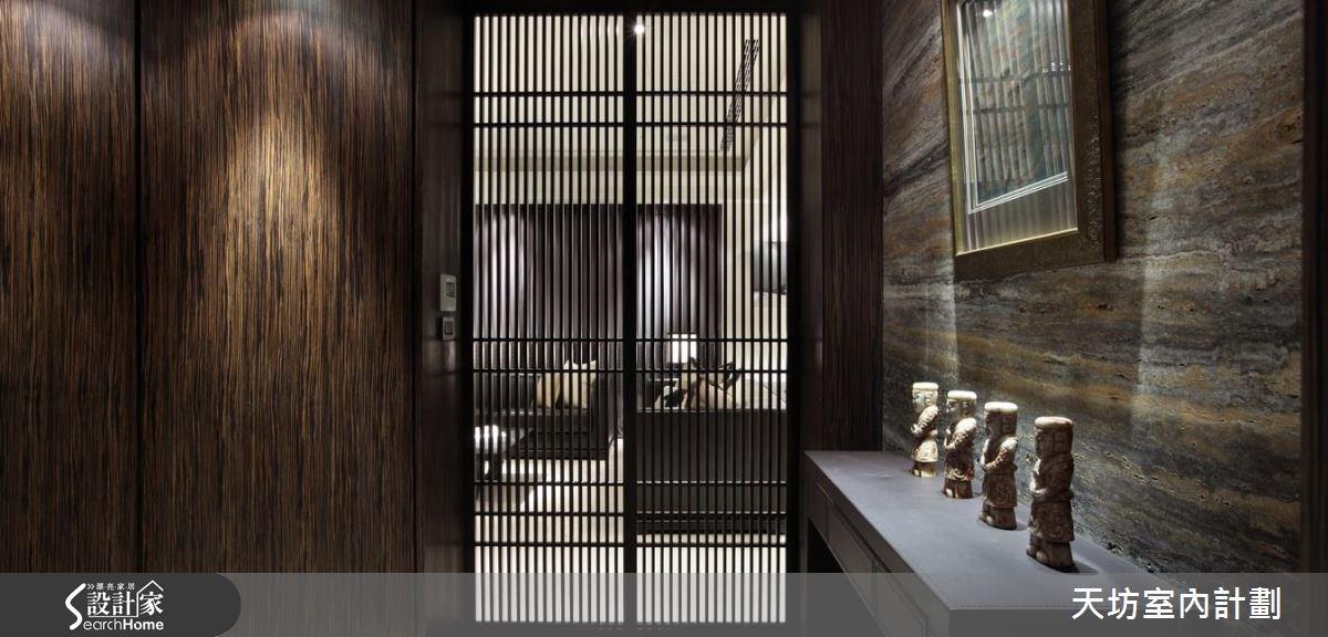 47坪新成屋(5年以下)_新中式風玄關案例圖片_天坊室內計劃有限公司_天坊_21之2