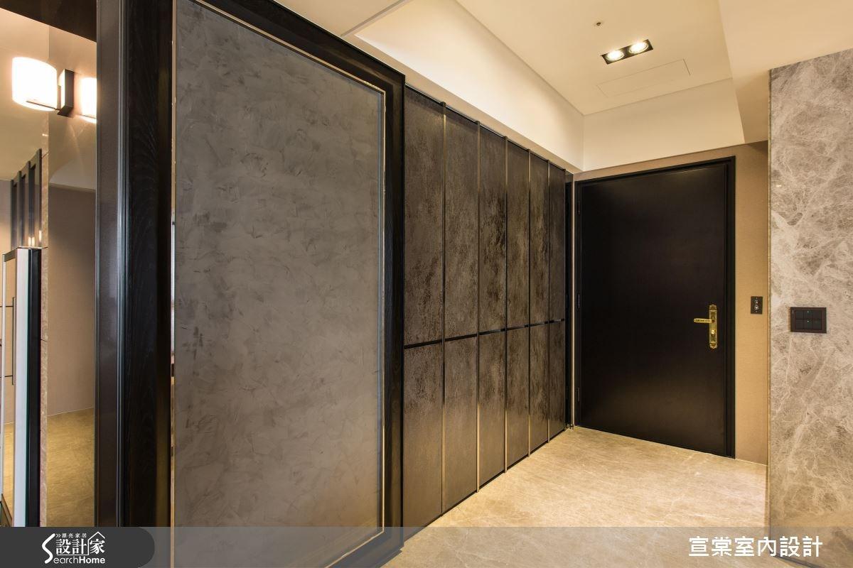 90坪新成屋(5年以下)_現代風玄關案例圖片_宣棠室內設計_宣棠_雍容居所之1