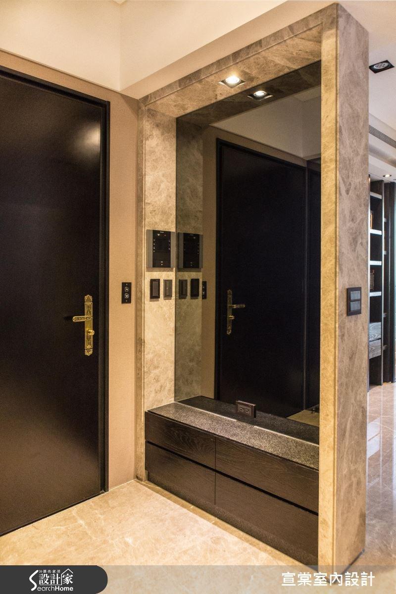 90坪新成屋(5年以下)_現代風玄關案例圖片_宣棠室內設計_宣棠_雍容居所之2