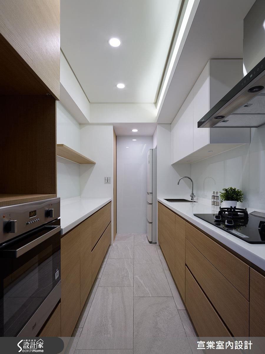 27坪老屋(16~30年)_現代風廚房案例圖片_宣棠室內設計_宣棠_佇 流動之15
